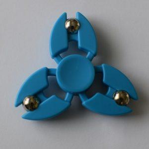 fidget spinneri sininen